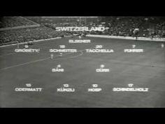 Fußball WM 1966 - Vorrundenspiel Deutschland - Schweiz 5:0