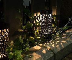 Buy Pcs Solar Garden LED Lights Lawn Lam Decoration Outdoor Path Waterproof Light at Wish - Shopping Made Fun Outdoor Solar Lamps, Solar Lanterns, Outdoor Lighting, Solar Lawn Lights, Solar Powered Lights, Garden Post Lights, Garden Posts, Garden Lamps, Landscape Lighting