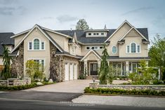 Custom House Design - Concept To Design Traditional House, New Construction, Home Values, Home Interior Design, Custom Homes, Design Projects, Outdoor Living, Living Spaces, House Design