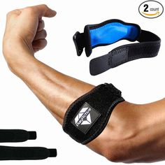 Men's Arm Warmers Compression Pad For Pain Relief And Support Adjustable Band Suitable For All Everybody Arm