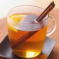 Hot Buttered Cider. To make a hot buttered rum drink, add 1/2 cup rum to this recipe. ♥ Better Homes and Gardens