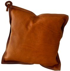 leather pillow via www.harten8.com
