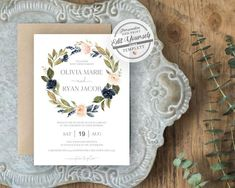 Boho Wedding Invitat