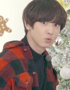 Park Chanyeol Exo, Kyungsoo, Pink Fuzzy Sweater, Kim Min Seok, Do Kyung Soo, Exo Memes, Kim Jong In, Korean Music, Chanbaek