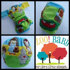 Zoo! Baby Modern Cloth Nappy. Great Baby Gift Ideas. Wizard Of Oz theme <3