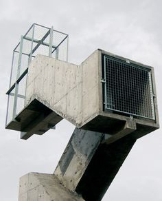 Industrial Concrete Structure - Stairway to Heaven by Didier Fiuza Faustino #architecture
