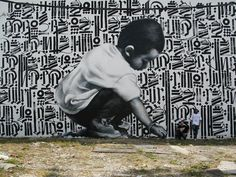 Street art mural by El Mac