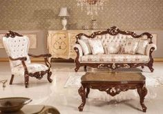 Find the best Turkish chairs on ALGEDRA Trading & Furniture website. Choose from a variety of durable and stylish chair and sofa sets. Decor Home Living Room, Living Room Sets, Living Room Furniture, Home Decor, Salon Furniture, Table Furniture, Turkish Furniture, Wooden Sofa Designs, Stylish Chairs
