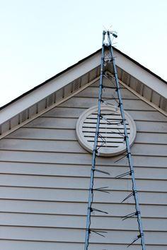 hanging christmas lights the easy way - Outdoor Christmas Light Hooks