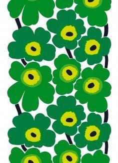 "Green ""Stuff"" marimekko fabric"