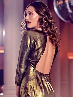 burda style, Schnittmuster - Figurbetontes Kleid mit ¾-Ärmeln und tiefem, breitem Rückenausschnitt, Nr. 124 aus 06-2015