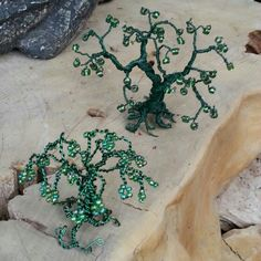 Wire tree made with florist wire
