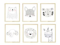 Nursery wall art, Black and white nursery art, Nursery Animals Art, Giraffe and Zebra Nursery - - Zebra Print Bedding, Zebra Nursery, White Nursery, Safari Nursery, Animal Nursery, Nursery Prints, Nursery Wall Art, Wall Art Prints, Baby Zoo Animals