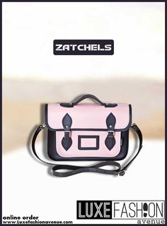Make your own fashion statement by choosing our pink toned satchel bag, crafted by high-end leather. Comes with a hand and shoulder strap. Satchel Bag, Leather Bag, Shoulder Strap, Twins, Handbags, Design, Women, Fashion, Moda