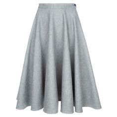 Woman Skirt warm grey - Online Store - Lena Hoschek Online Shop