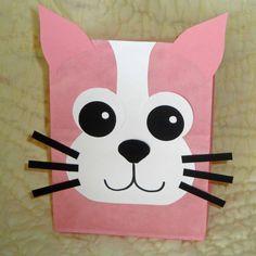 Cat Treat Sacks - Kitten Kitty Farm Pet Theme Birthday Party Favor Bags by jettabees on Etsy
