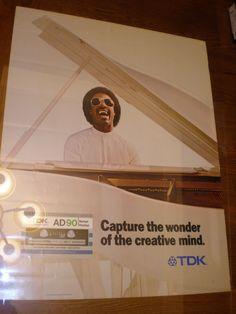 Stevie Wonder, Compact, Archive, Positivity, Movie Posters, Vintage, Film Poster, Vintage Comics, Primitive