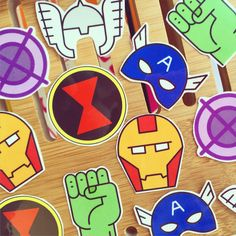 Avengers Temporary Tattoo