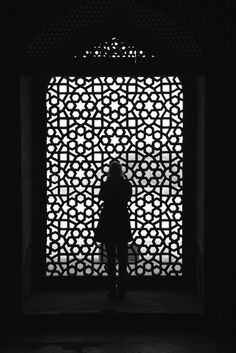 #pattern #moorish #architecture #silhouette #blackandwhite