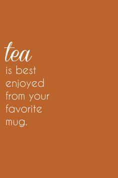 Y por eso yo disfruto mi té en las tazas de Sweet Lala
