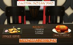 Mod The Sims: Tandoori Chicken - Custom Indian food by icemunmun • Sims 4 Downloads