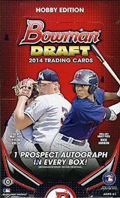 IN STOCK AND READY TO BE SHIPPED2014 Bowman Draft Baseball MLB Hobby Edition Factory Sealed Box7 Cards Per Pack & 24 packs Per Box(Packs with an inser... #factory #sealed #edition #hobby #draft #baseball #bowman