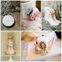 Chic Alice in Wonderland Wedding with Lots of REALLY CUTE Ideas via Kara's Party Ideas | KarasPartyIdeas.com #MadHatter #ShabbyChic #Party #DessertTable #Ideas #Supplies #wedding