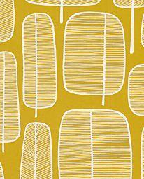 Tapet Little Trees Yellow från MissPrint