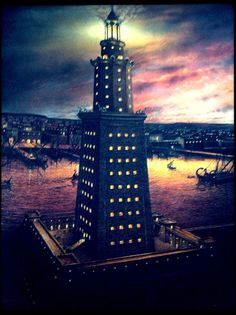 The Lighthouse Of Alexandria http://tuxedocat007.typepad.com/flashcardhistory/2013/08/the-lighthouse-of-alexandria.html
