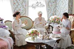 downton abbey tea party | Downton Abbey Afternoon Tea༻נαηιєк༻
