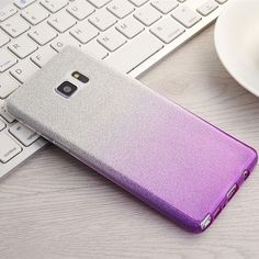 Gradient Glitter Soft Silicon Case For Samsung Galaxy J7 J5 J2 Prime J3 A3 A5 6 2016 A7 2017 S8 S6 S7 Edge S5 C5 C7 Note 5 4 3