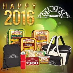 Win a $300 gift card and a Party Box from Del Real Foods!