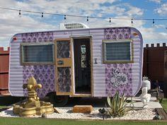 Mojave Desert - Joshua Tree - Hicksville trailer park hotel