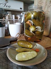 PASTU domov: Okurky rychlokvašky Pesto, Pickles, Cucumber, Tea, Canning, Kitchen, Mario, Syrup, Cooking