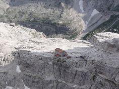 """Rifugio Pedrotti""  Dolomites - Trentino  http://www.visittrentino.it/it/outdoor"