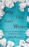 """We have conditioned students to perform """"writing-related simulations,"""" which pass temporary muster but do little to help students develop their writing abilities. Education Reform, Classical Education, Teaching Writing, Writing Skills, John Warner, Habits Of Mind, Book Challenge, College Students, Self Improvement"""