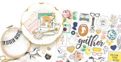 GATHER collection by Maggie Holmes | Crate Paper