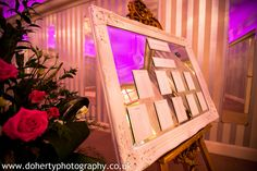 Your table plan will look stunning in our Warwick Room