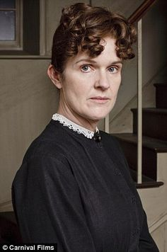 Siobhan Finneran as Miss O'Brien. It will be very easy to write O'Brien out of Downton. She can go be the Lady's Maid for Shrimpie and his wife