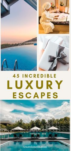 43 Luxury Escapes For Your Bucket List. The resort has villas with both beach and lagoon views along with luxurious Overwater Villas. Which resort is this? babies flight hotel restaurant destinations ideas tips Beach Resorts, Hotels And Resorts, Luxury Hotels, Family Resorts, Travel With Kids, Family Travel, Places To Travel, Travel Destinations, Travel Tips