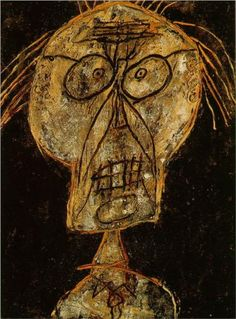 Grand Maitre of the Outsider  - Jean Dubuffet