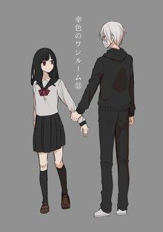 Manga Anime, Otaku Anime, Anime Art, Anime Couples, Cute Couples, Onii San, Vocaloid Cosplay, Satsuriku No Tenshi, Anime Family