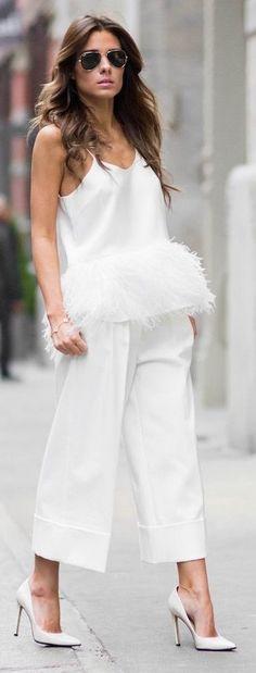 #spring #fashion #outfitideas | All White