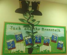Jack and the Beanstalk classroom display photo - SparkleBox