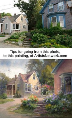 Coming back to this blog - Johannes Vloothuis shares painting tips at ArtistsNetwork.com. #painting #art