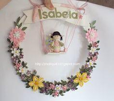NatiQuill Blog: Guirlanda Porta de Maternidade