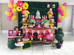 Festa Masha e o Urso - Dani Festas Personalizadas