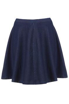 Dark Denim Skater Skirt - Skirts - Clothing - Topshop