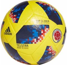 6c05a2722c8 2018 FIFA World Cup Russia Colombia Soccer Ball - Vamos Colombia Fan Shop