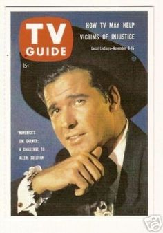 Maverick - James Garner - TV Guide Collector Card